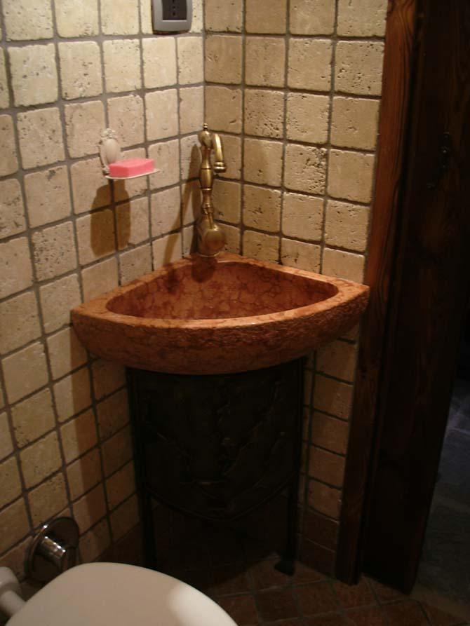 Top bagno roi graniti group s r l - Lavandino angolo bagno ...